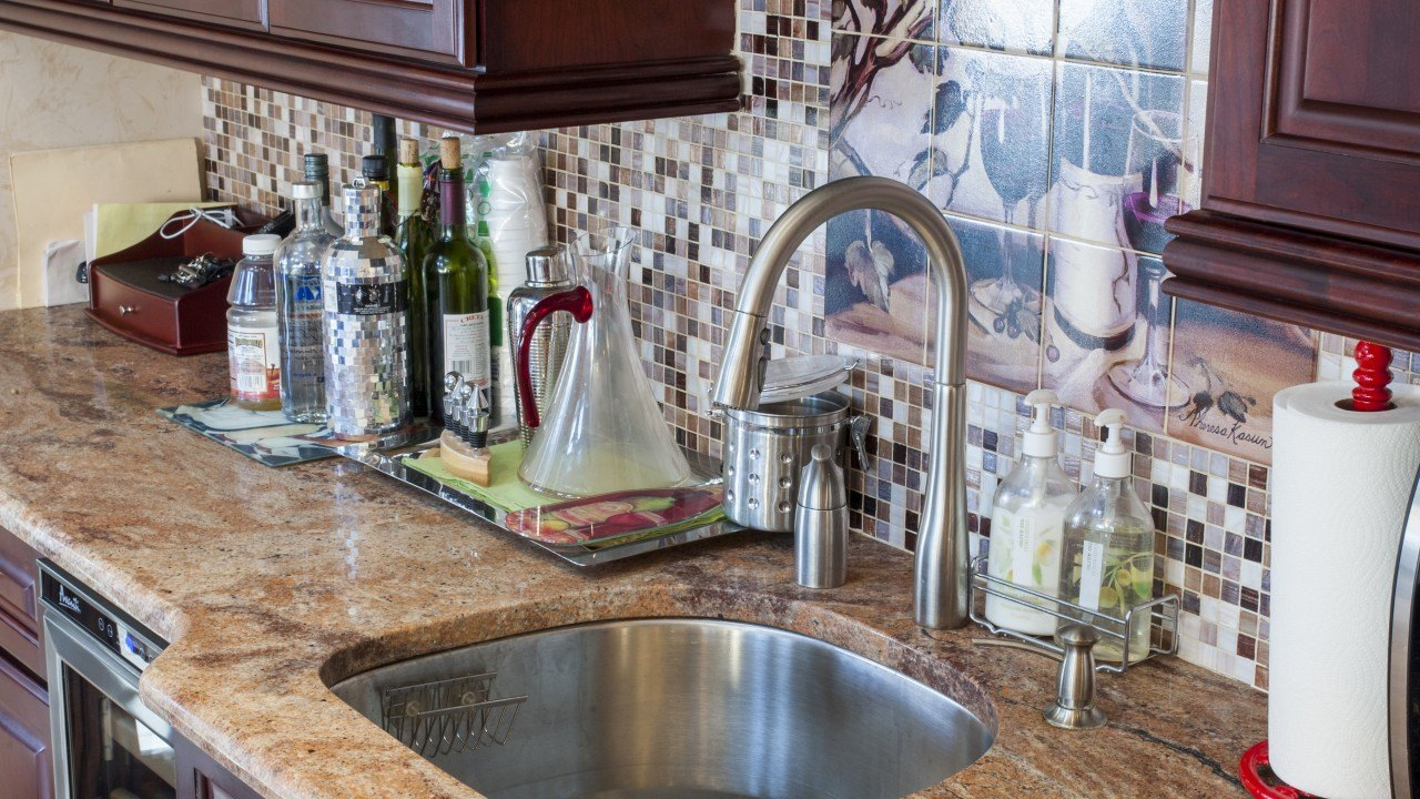 Vyara Gold Granite Kitchen | Marble.com