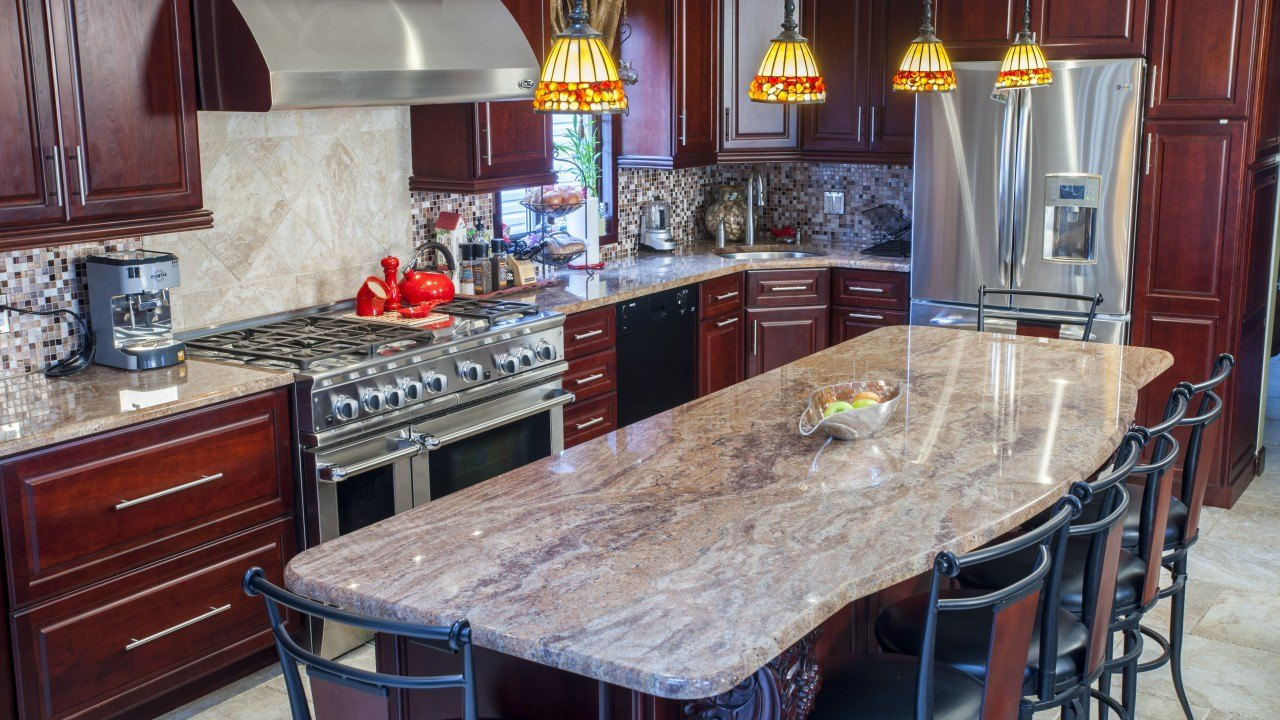 Vyara Gold Granite Kitchen Countertops Marble Com
