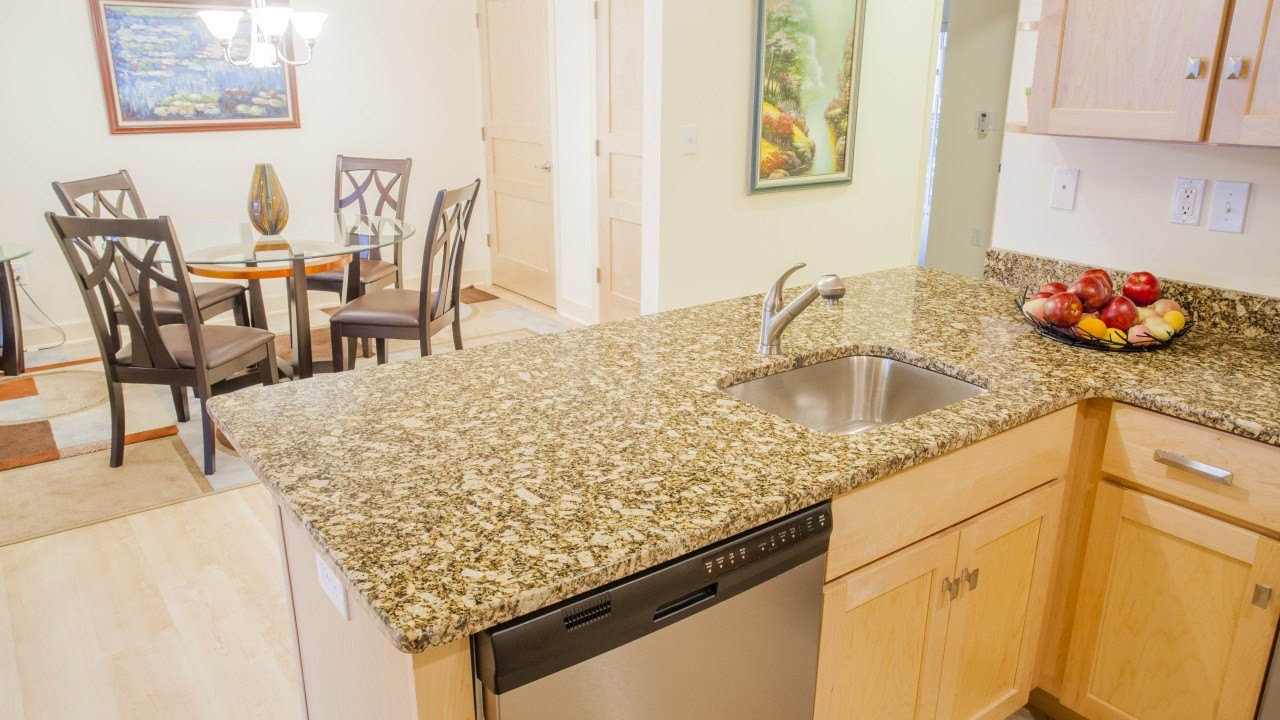 Giallo Napoleone Granite Kitchen Countertops | Marble.com