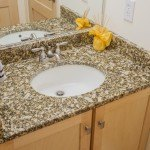 Giallo Napoleone Granite Bathroom | Marble.com