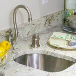 Ambrosia White Granite Kitchen Countertop | Marble.com