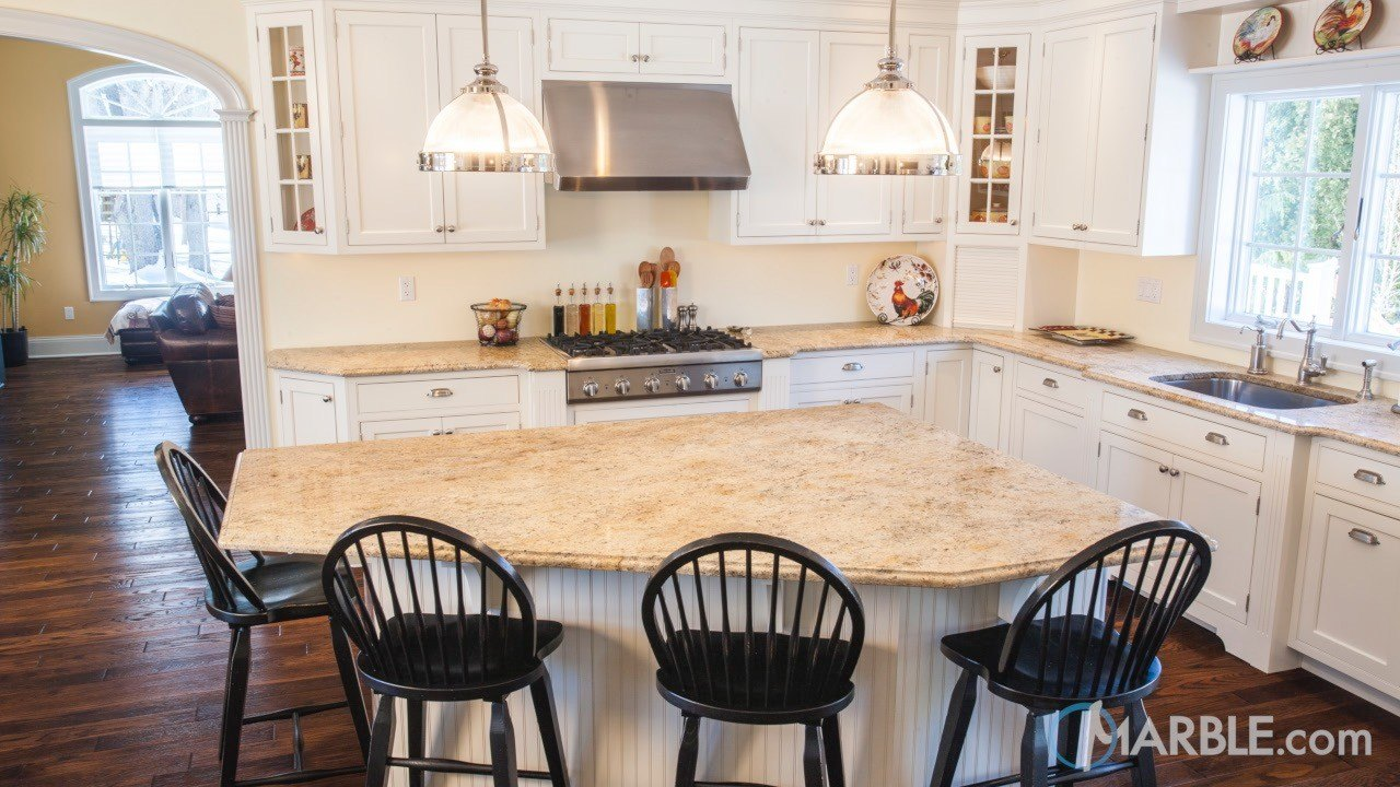 Astoria Satin Granite Kitchen | Marble.com