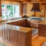 Amba Gold Granite Kitchen | Marble.com