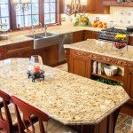 Oro Brasil Granite Kitchen | Marble.com