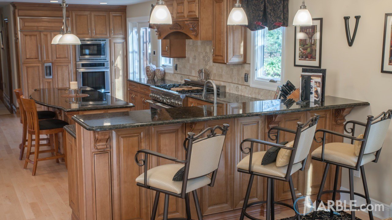 Ubatuba Granite Kitchen | Marble.com