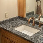 White Fiorita Granite Bathroom Vanity | Marble.com
