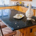 Original Peacock Green Granite Kitchen | Marble.com