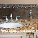Verniz Tropical Granite Bathroom Vanity  | Marble.com