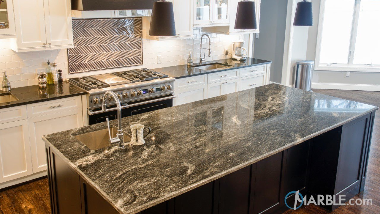 Kitchen Black Granite Countertops : Black granite kitchen countertops best