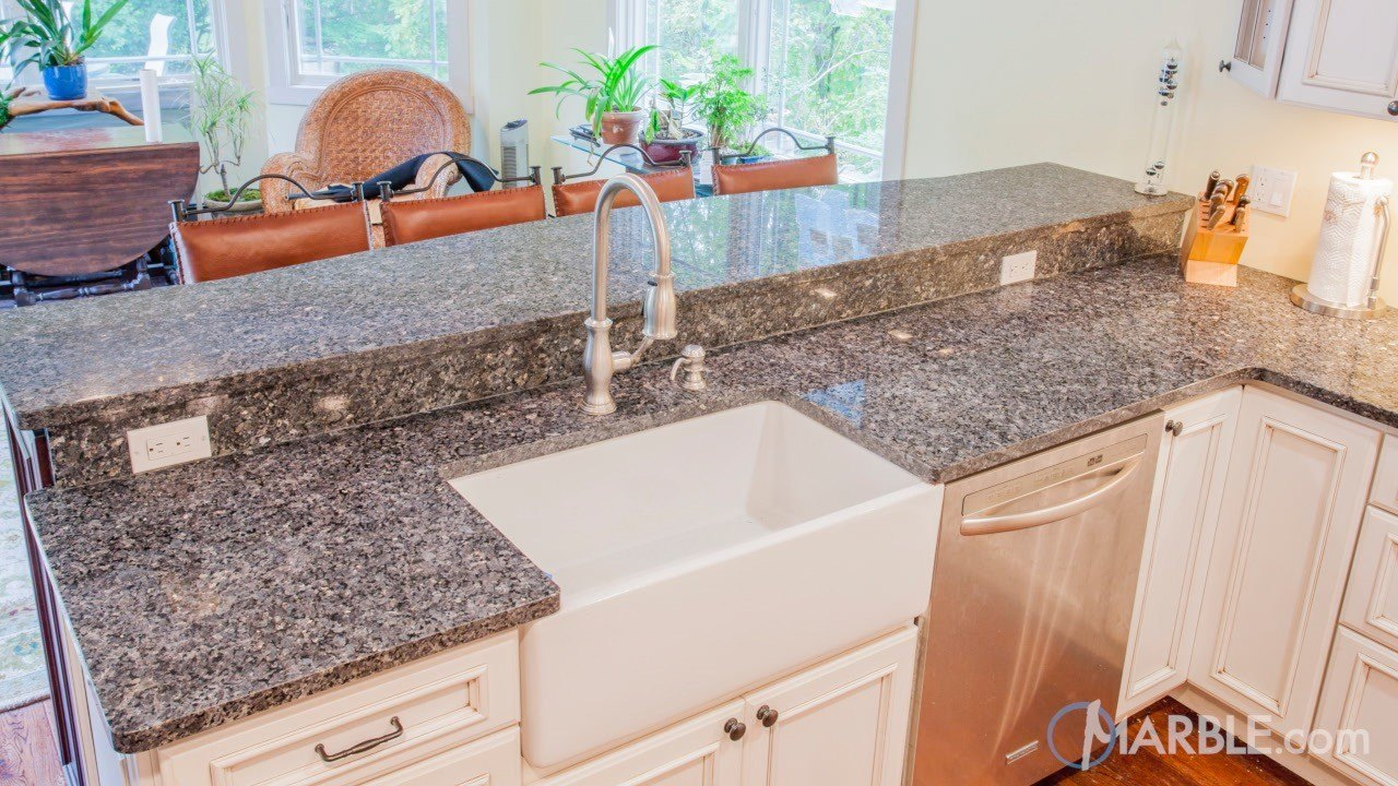 kitchen sensa countertop pearl large of granite size blue