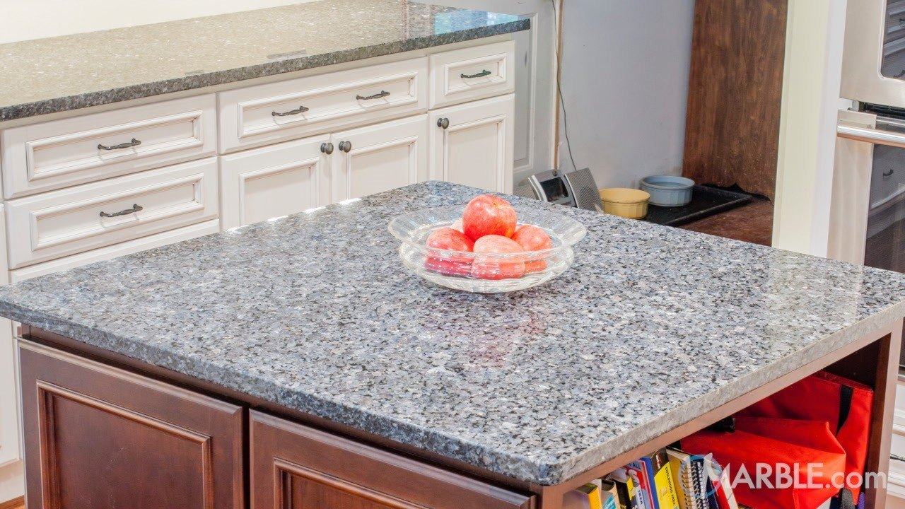 Blue Pearl GT Granite Kitchen | Marble.com