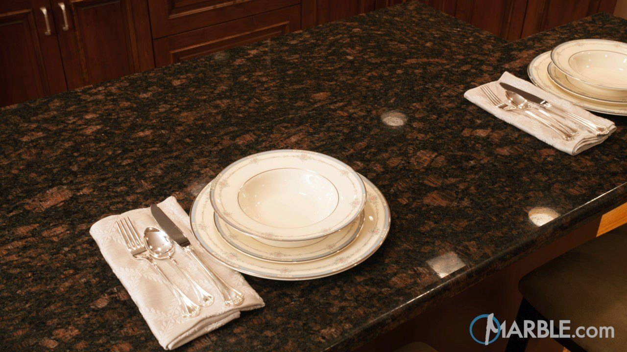 Tan Brown Kitchen Countertops  | Marble.com