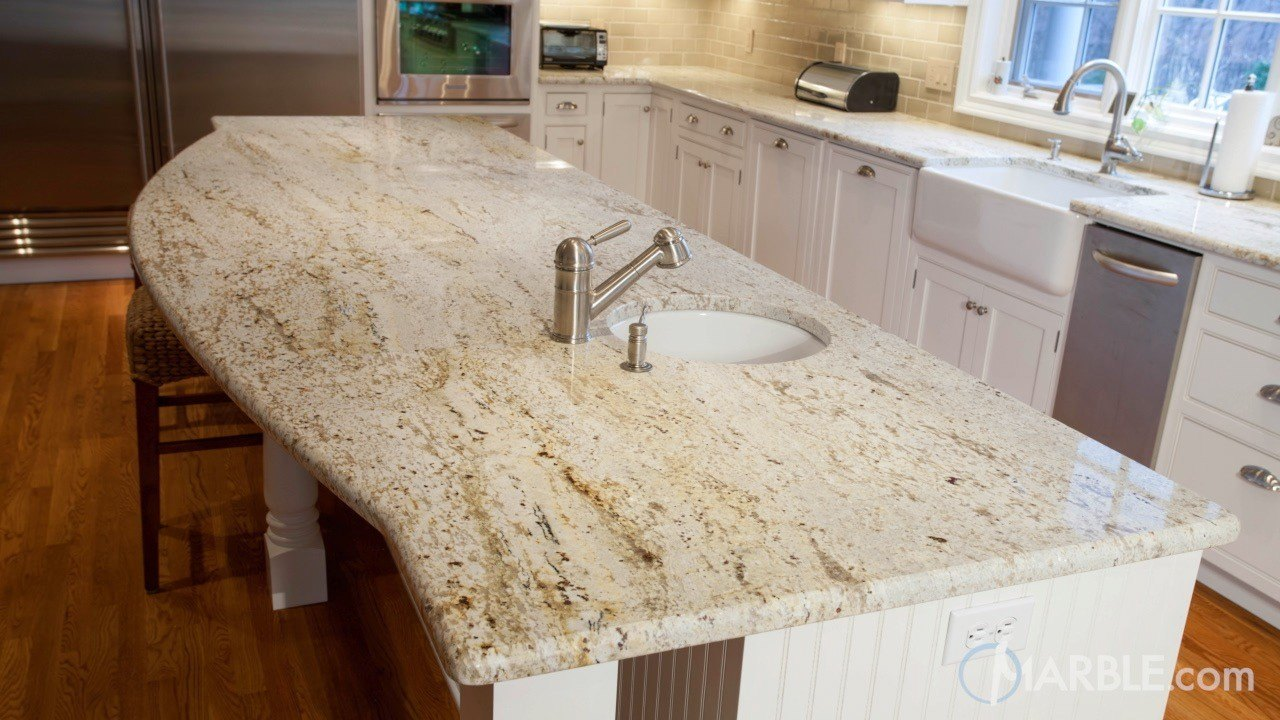 River Gold Granite Countertop Www Imgkid Com The Image