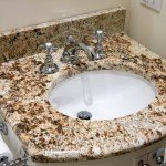 Giallo Napole Granite Bathroom Vanity | Marble.com