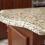 Santa Cecilia Granite Kitchen with Cherry Wood Cabinets | Marble.com