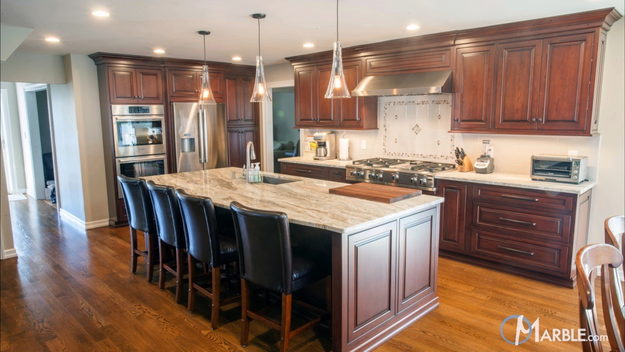 Fantasy Brown Quartzite Kitchen Countertops  | Marble.com