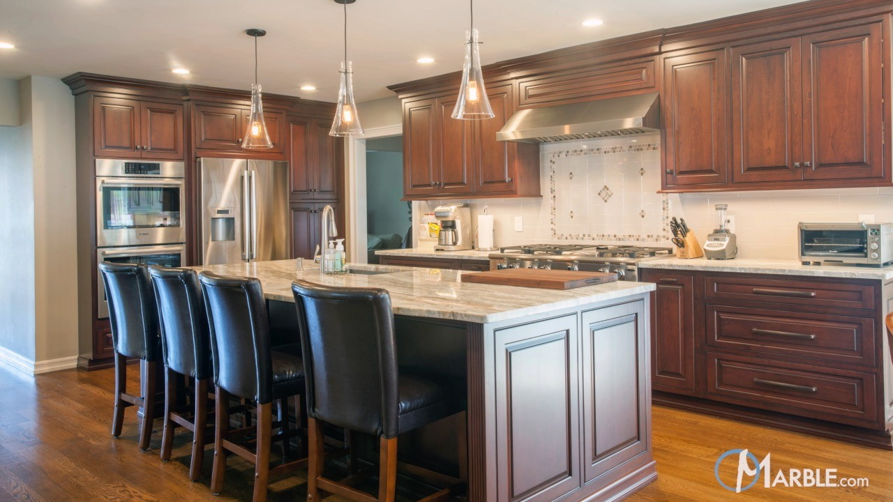 Fantasy Brown Quartzite Kitchen Countertops