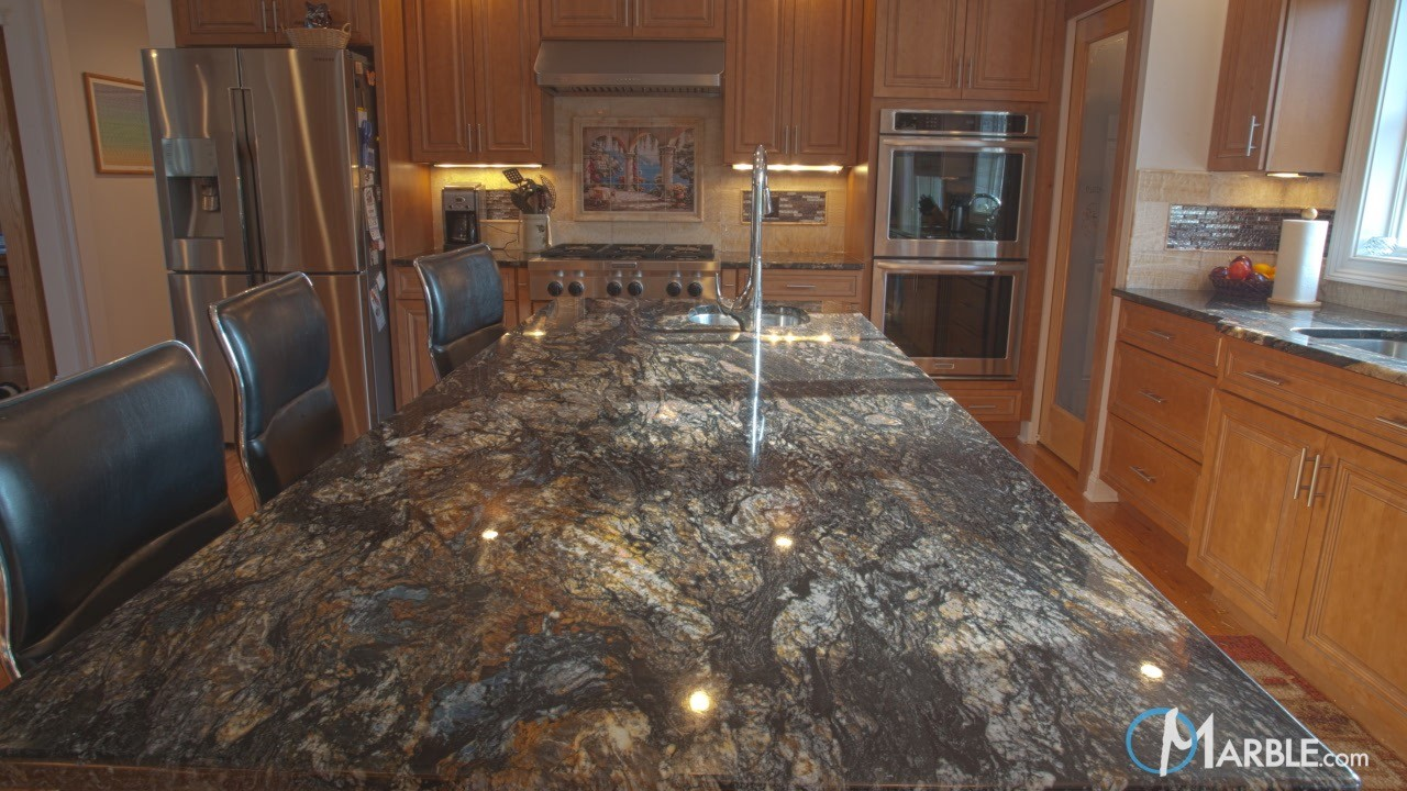 Titanium Granite Kitchen Countertops | Marble.com