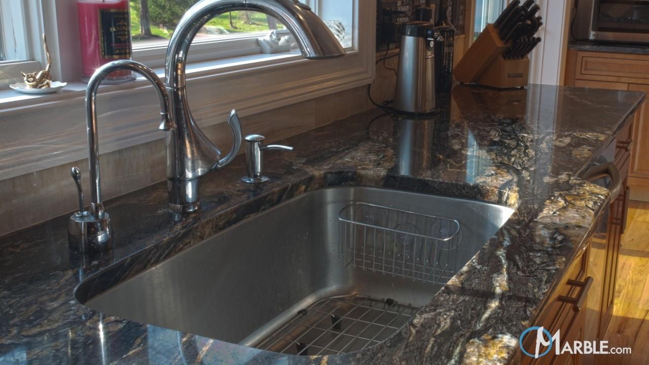 Titanium Granite Kitchen | Marble.com