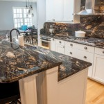 Titanium Black Granite Kitchen Countertops | Marble.com