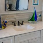 Sparkling Blue Marble Bathroom Vanity | Marble.com