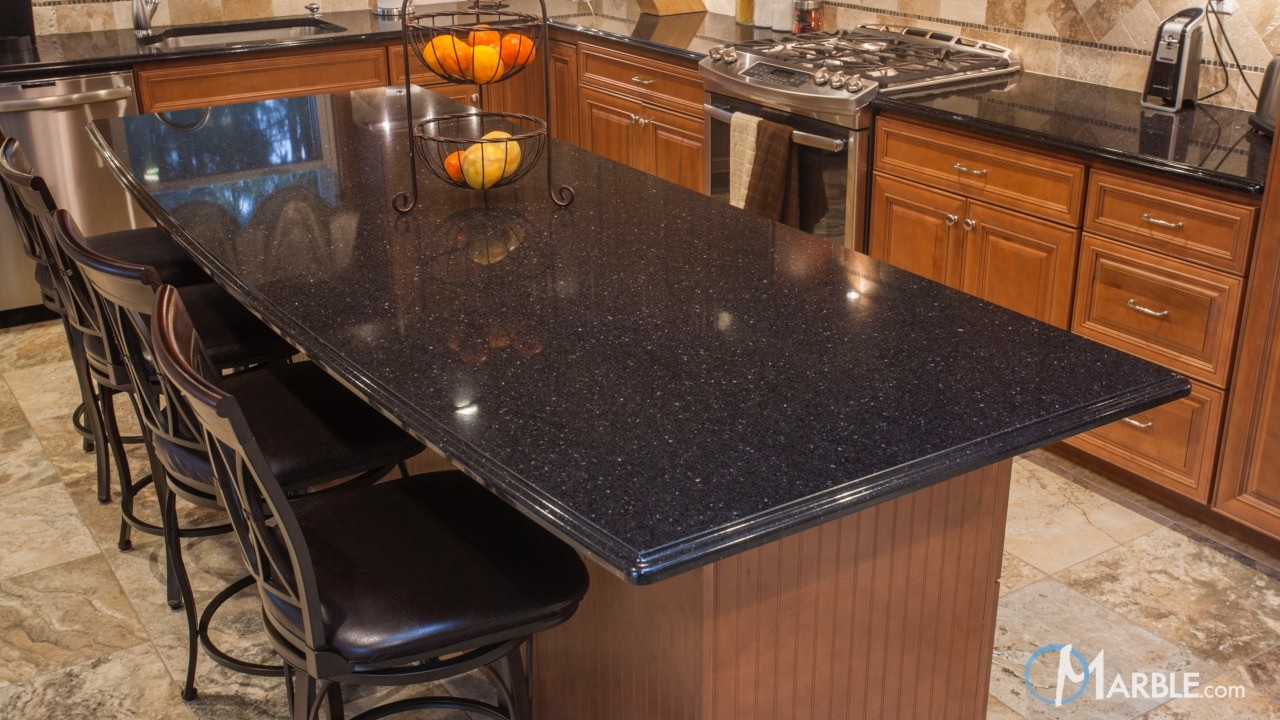 Countertop Options South Africa : African Galaxy Granite Kitchen Countertops
