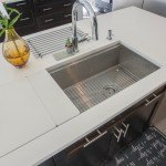 Organic White Quartz Kitchen Countertops | Marble.com