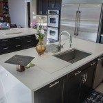 Organic White Quartz Kitchen | Marble.com