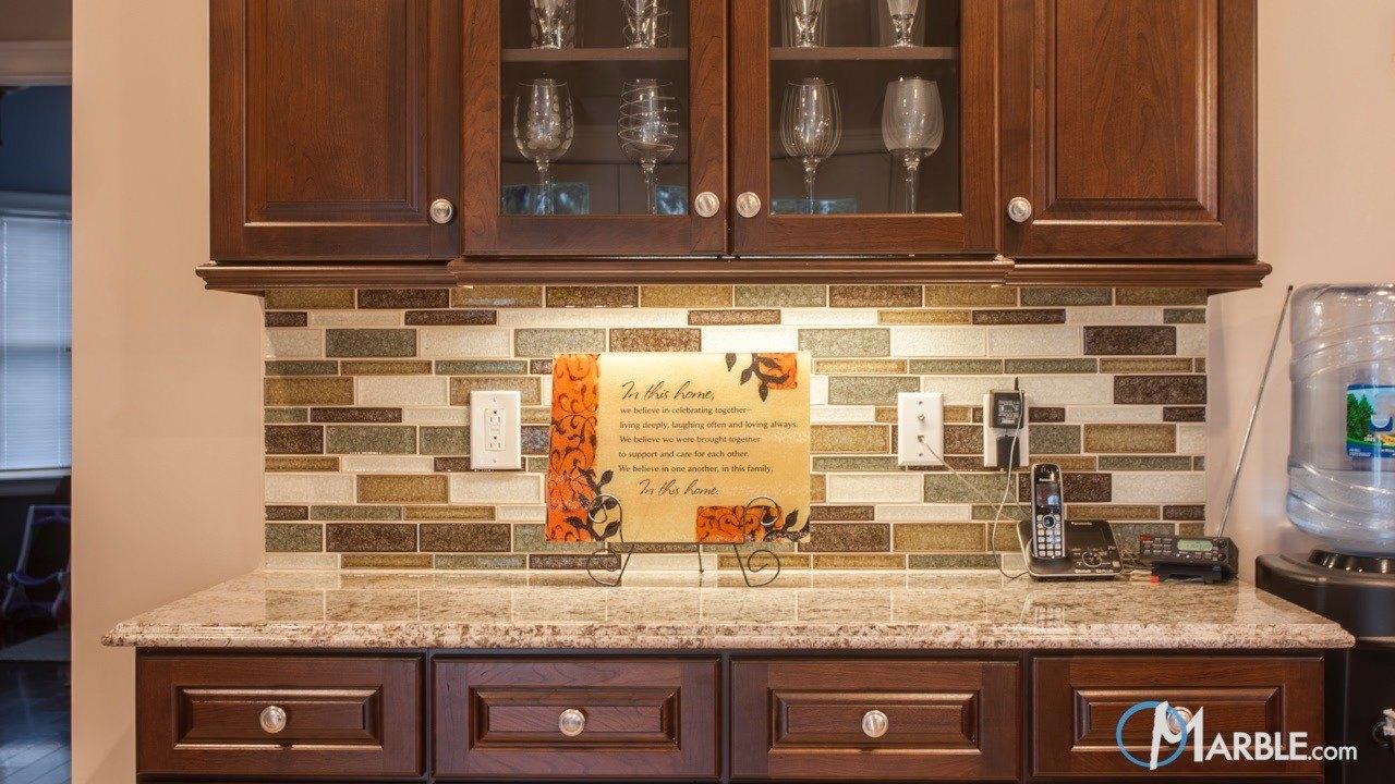 Bianco Antico Granite Countertops in a New Kitchen | Marble.com