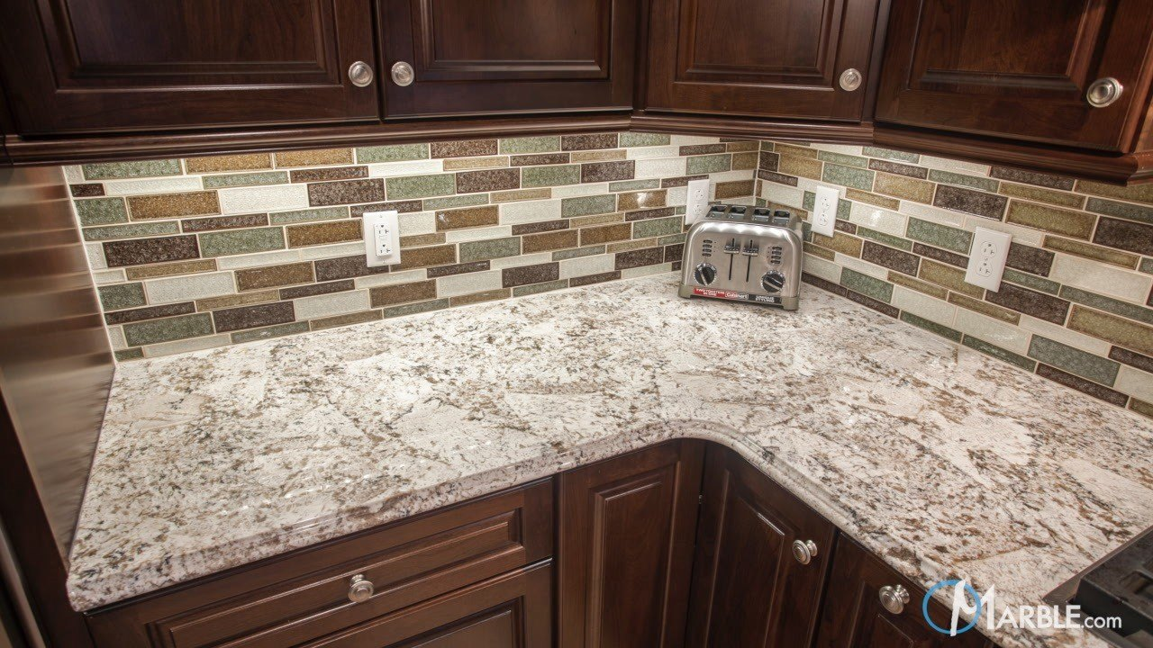 Bianco Antico Granite Countertops In A New Kitchen