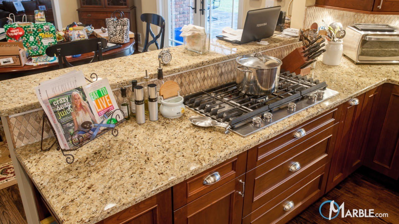 Santa Cecilia Granite Countertops In A