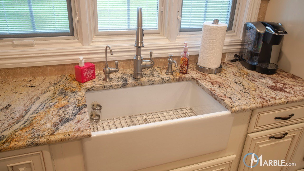 Typhoon Bordeaux Kitchen Granite Countertops