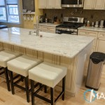 Bianco Romano Granite Kitchen Countertops | Marble.com