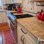 Giallo Ornamental Kitchen Granite Countertops | Marble.com