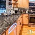Silver Pearl Kitchen Granite Countertops | Marble.com