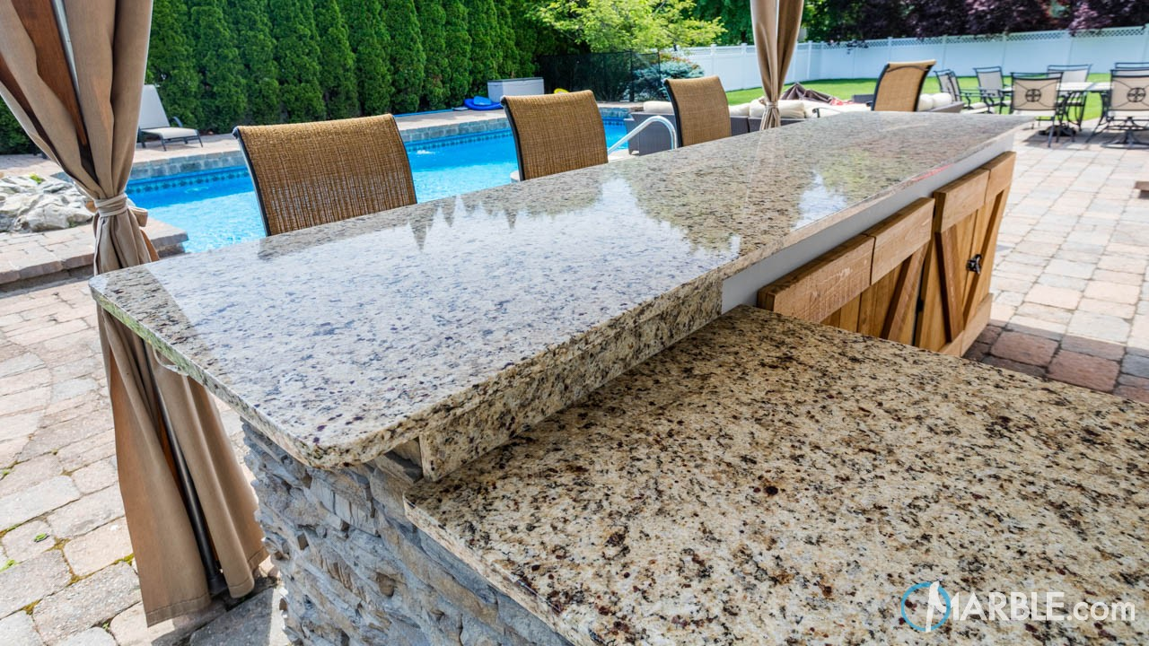 Napole Granite Outdoor Countertops