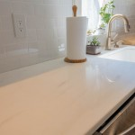 Classic White Quartzite Kitchen Countertops | Marble.com