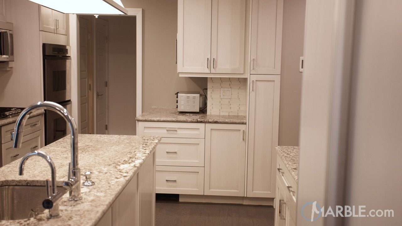 Bianco Antico Granite Counter Material | Marble.com